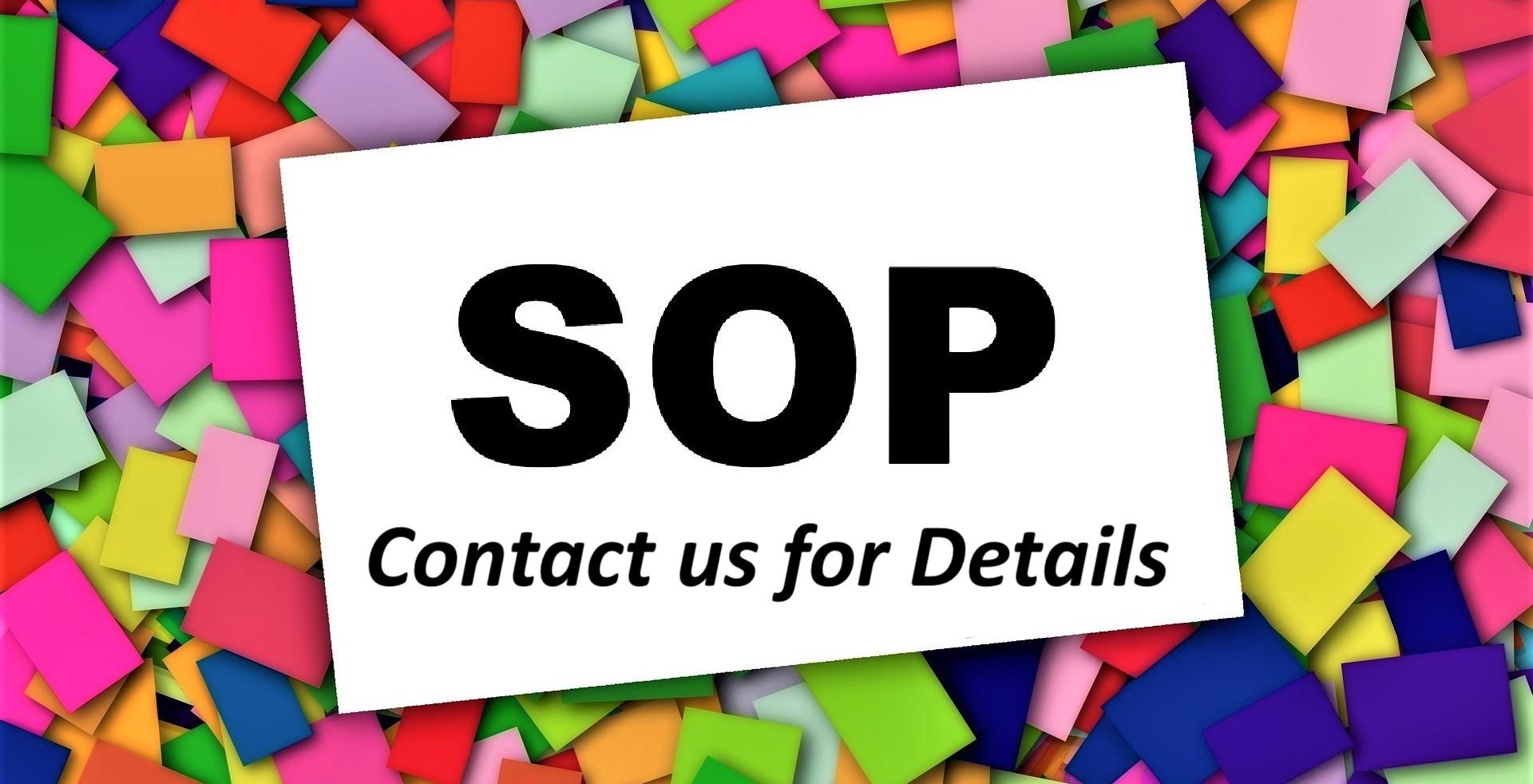 SOP Manuals Development